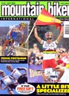 Mountainbike International cover page for July